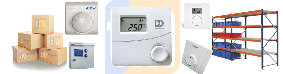 Wired Room Thermostats