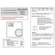 Eca [Wired] Digital Room Thermostat - ERT-176 WS (excluding cable)