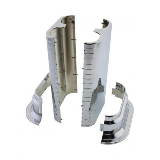 Double Pipe Hiding Apparatus - Long Type Locked Chrome