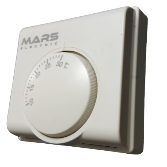 Mars S1 Manual Wired Room Thermostat - On / Off Mechanical
