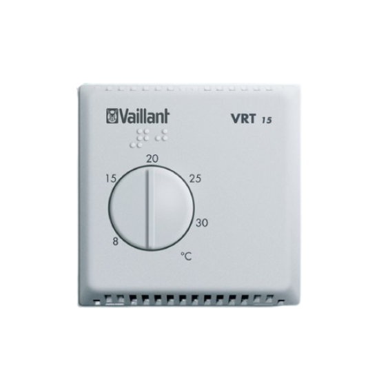Vaillant VRT 15 Room Thermostat - With Cable Connection